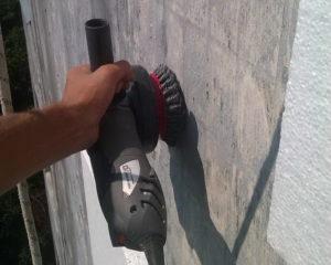 Подготовка поверхности к работам по утеплению фасада