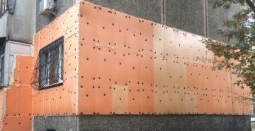 Монтаж пеноплекса на стены