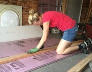Пеноплекс для утепления бетонного пола