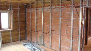 Подготовка стен к монтажу гипсокартоном