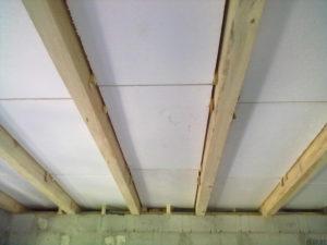Пенопласт для утепления пола в деревянном доме снизу