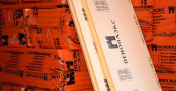 Пеноплекс размеры листа и упаковки