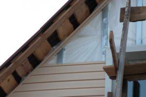 Утепление пенопластом стен дома снаружи под сайдинг
