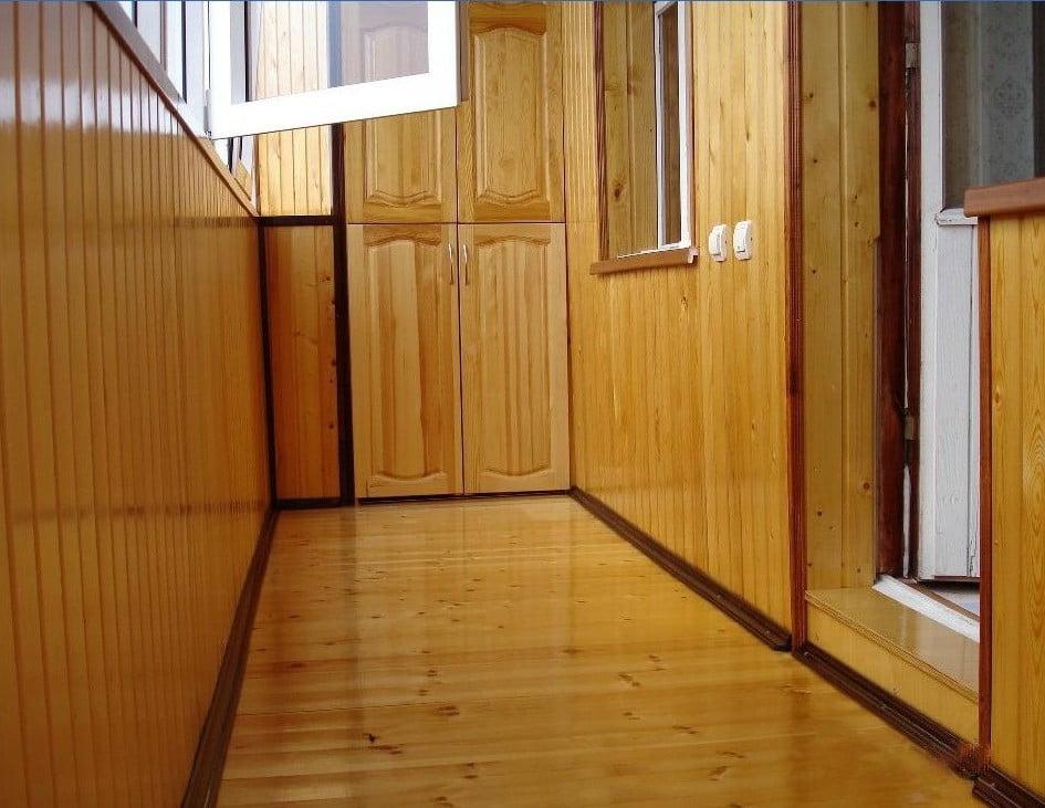 Как обшить балкон вагонкой: рекомендации специалистов.