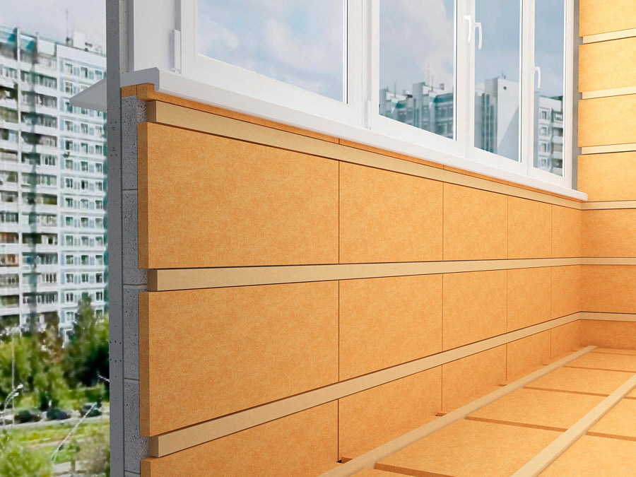 Утепление балкона пеноплексом: особенности технологии.