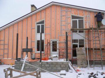 Утепление пеноплексом кирпичного дома снаружи