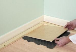 Гидроизоляция деревянного пола в ванной комнате под плитку