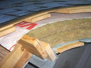 Утепление крыши в частном доме своими руками