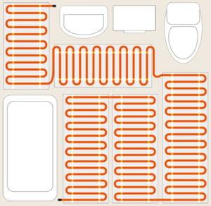 Расчет электрического теплого пола в качестве основного вида отопления