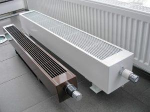 Обогреватель конвекторного типа с терморегулятором