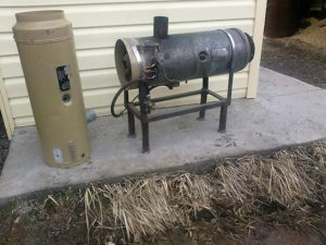 Газовая тепловая пушка своими руками для гаража
