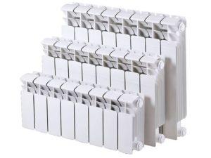 Приблизительный расчет количества секций радиаторов