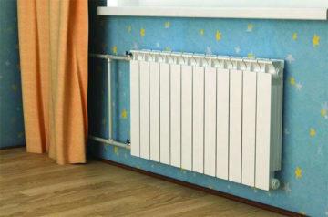 Установка биметаллических радиаторов отопления