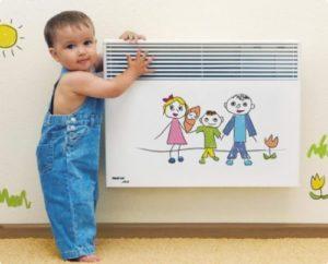 Обогреватель для детской комнаты