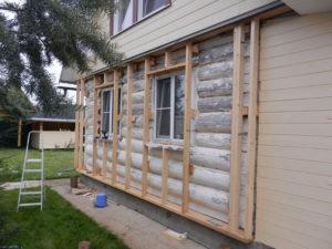 Технология утепления старого деревянного дома