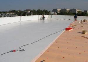 Схема утепления плоской крыши