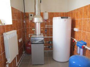 Газовое отопление дачи