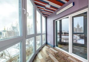 Остекление балкона и зимнего сада
