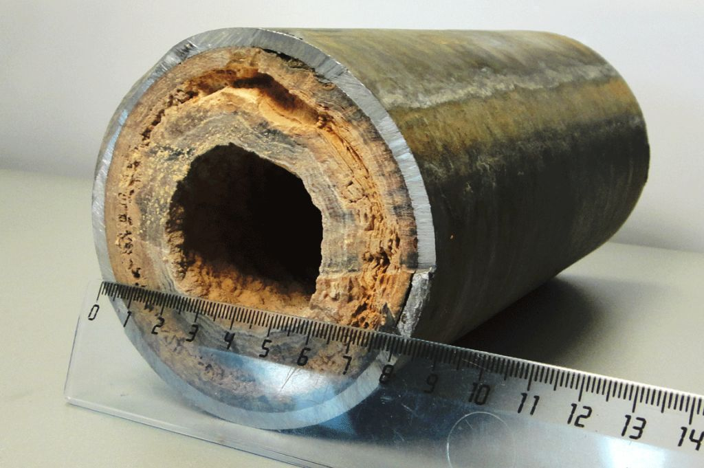 при какой температуре появляется накипь в теплообменнике котла ото