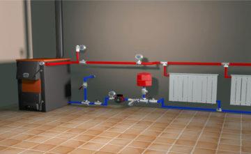 Отопление частного дома своими руками: схемы. - m 51